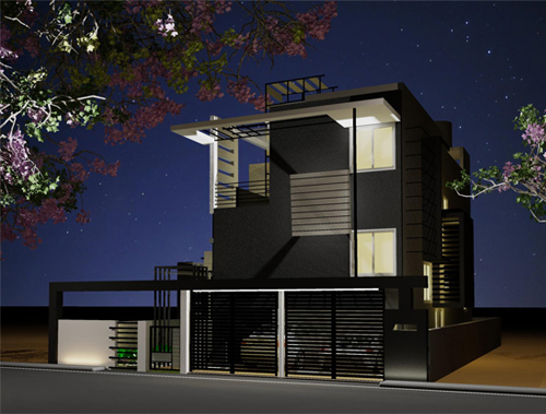 House designs bangalore design house in bangalore for Architecture design for home in india