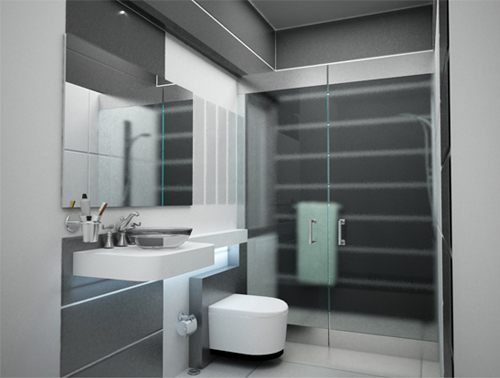 Wonderful  IdeasuseladdershelvesforstorageAmazingInspiringBathroomIdeas
